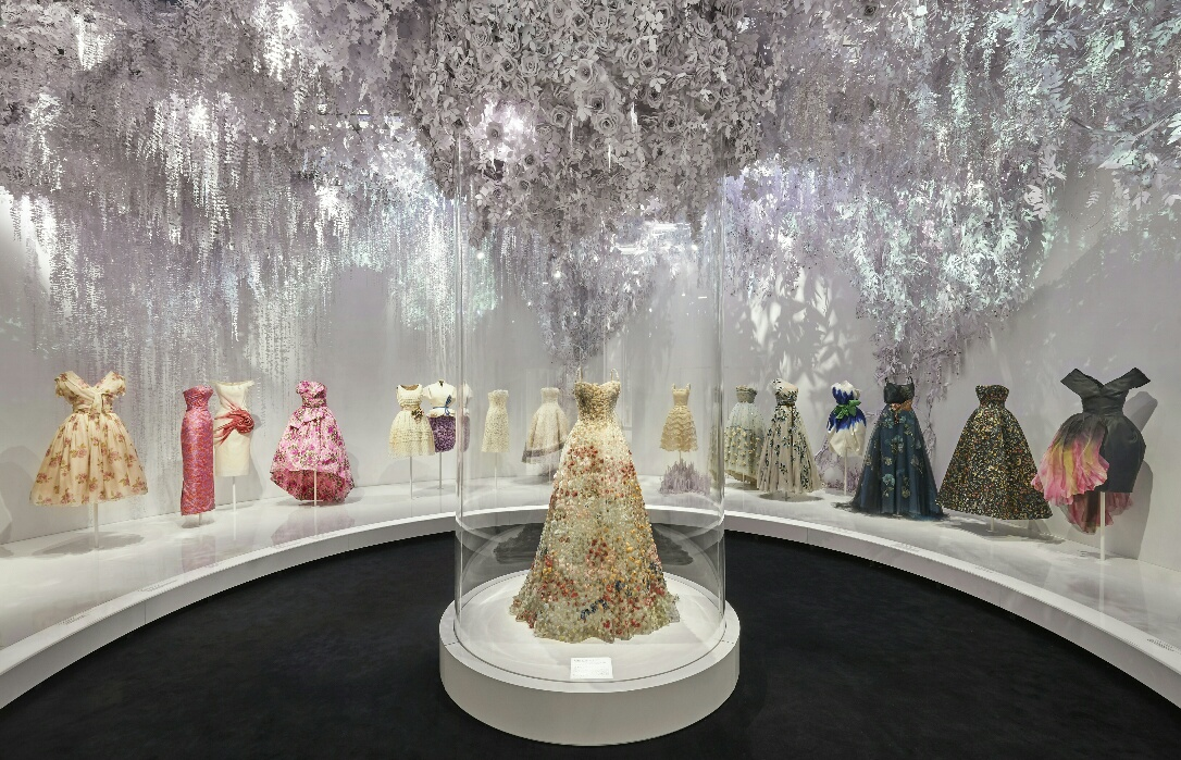 Christian Dior Designer of Dreams Exhibition