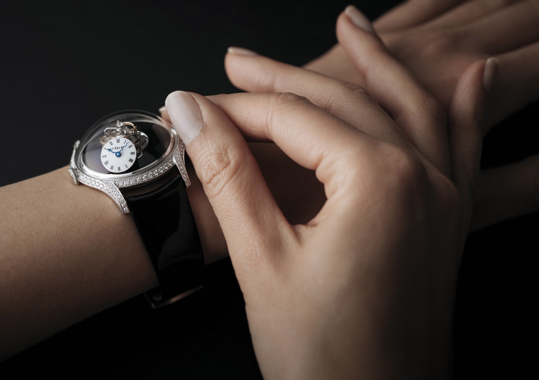 The First $315,000 MB&F Legacy Machine FlyingT Watch Dedicated To Women