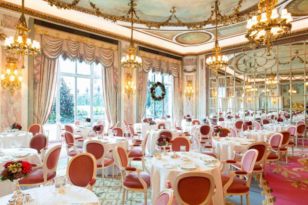 Christmas Season At The Ritz London