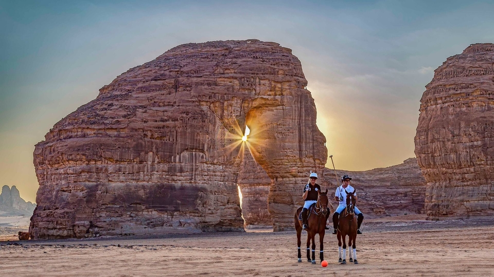 Worlds First Desert Polo In The Unspoiled Beauty of ALULA – Saudi Arabia