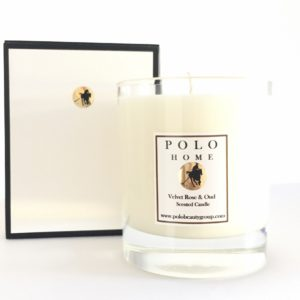 Velvet Rose & Oud Scented Candle