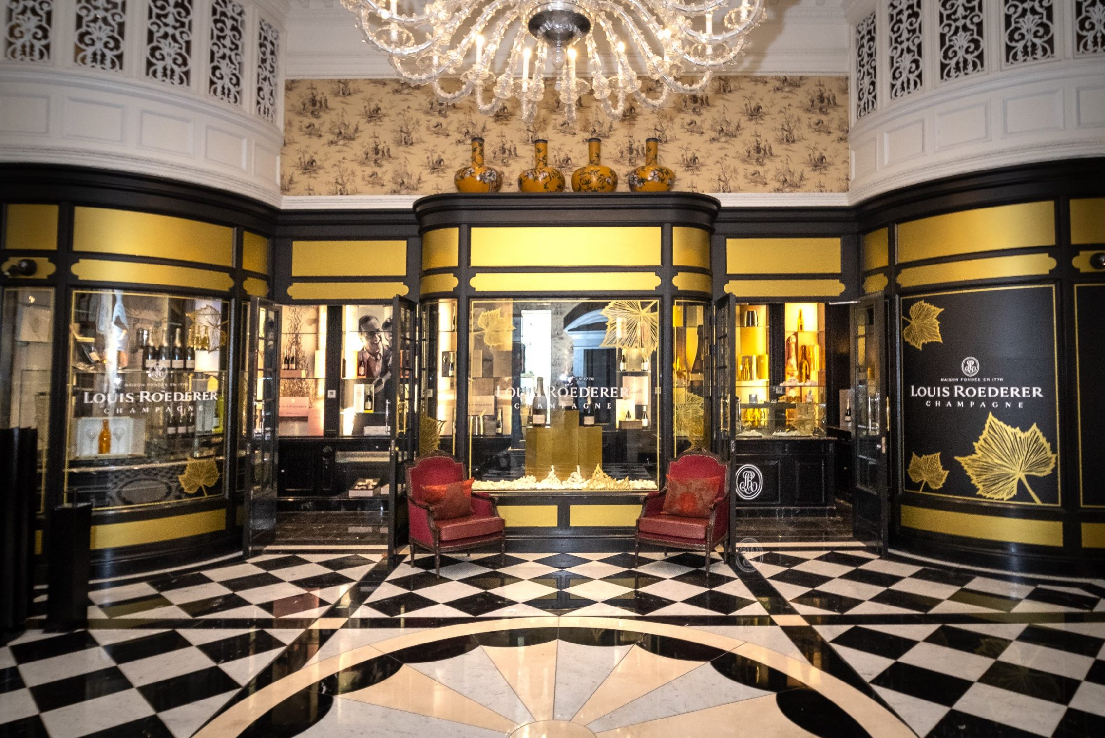 Louis Roederer Champagne Boutique Launches at The Savoy, London