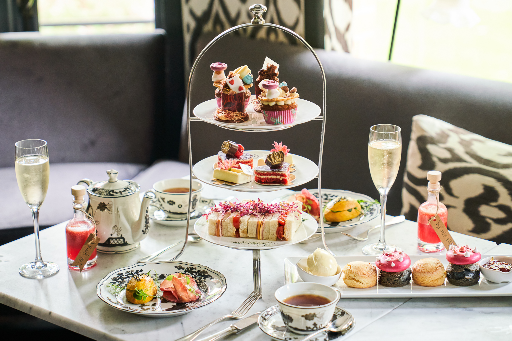 Read more about the article London Afternoon Tea Inspired by V&A's Alice: Curiouser & Curiouser Exhibition