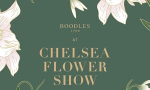 Jeweller Boodles at Chelsea Flower Show