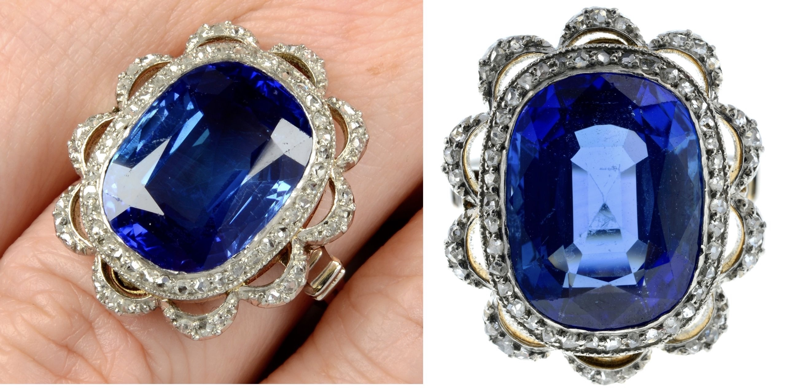 Most expensive sapphire fetches £176,000 at auction